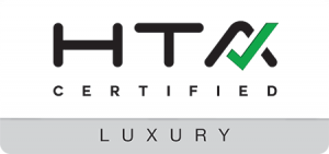 Luxury certified by the HTA